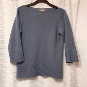 Benedetta B. Wool Cashmere Blend Boatneck Sweater